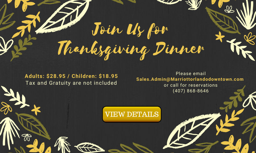 Thanksgiving 2019 at Shade Bar and Grill Orlando