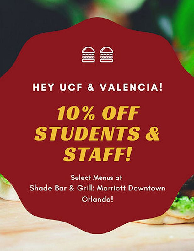 UCF and Valencia Discount